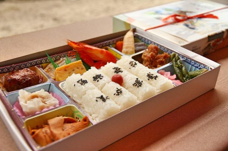 臨江閣昼食